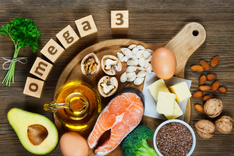 Omega-3s for Treatment of Dry Eye